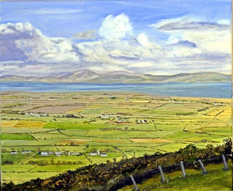 View over Lough Foyle