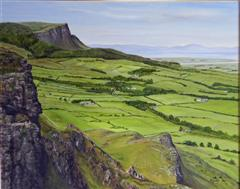 Oil painting of Benevenagh